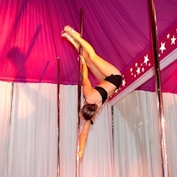 Advanced Pole Dancing Classes for  those ready to reach of the stars