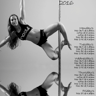 2016 Pole Dancing Class & Lesson Timetable Out Now